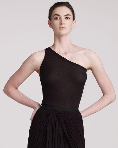 One-Shoulder Jersey Top