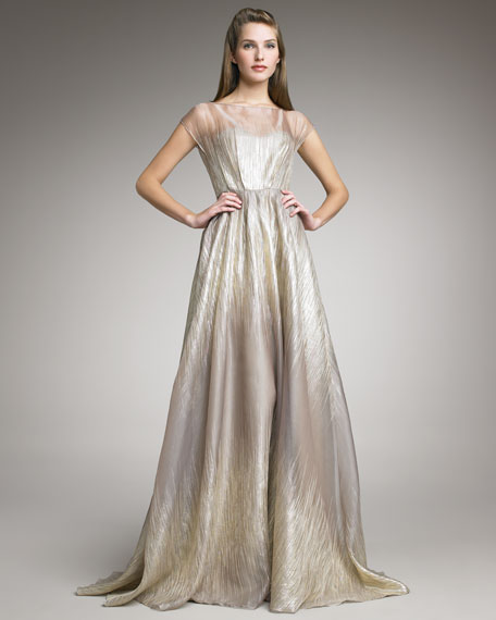 Organza Gown