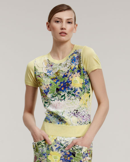 Arizona Floral-Print Top