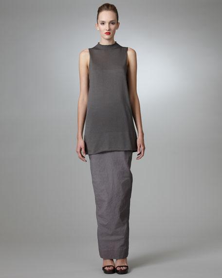 Back-Vented Column Skirt, Dust