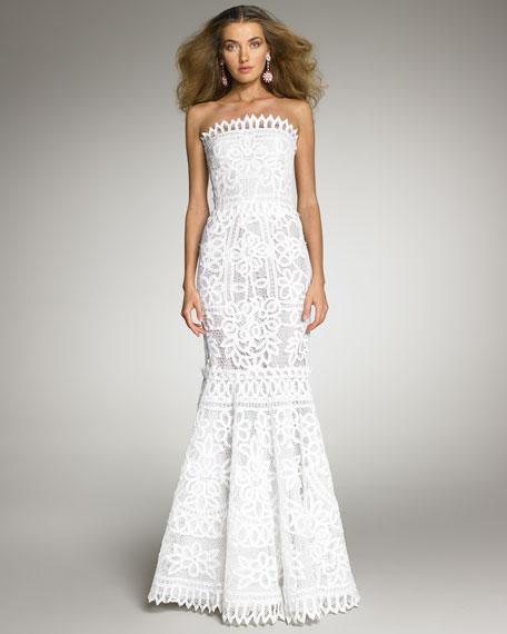 Battenberg Lace Gown