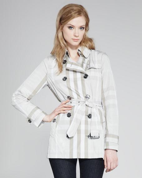 Check Taffeta Jacket