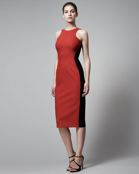 Ottavia Two-Tone Dress
