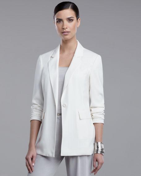 Luxe Crepe Jacket