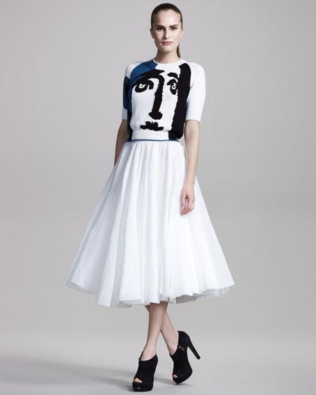 Organza Full Skirt