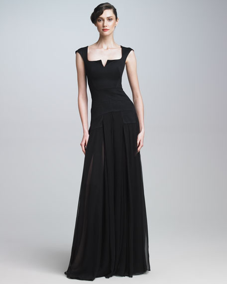 Bonded Jersey Gown