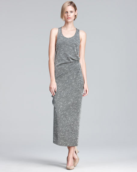 Textured Knit Maxi Dress