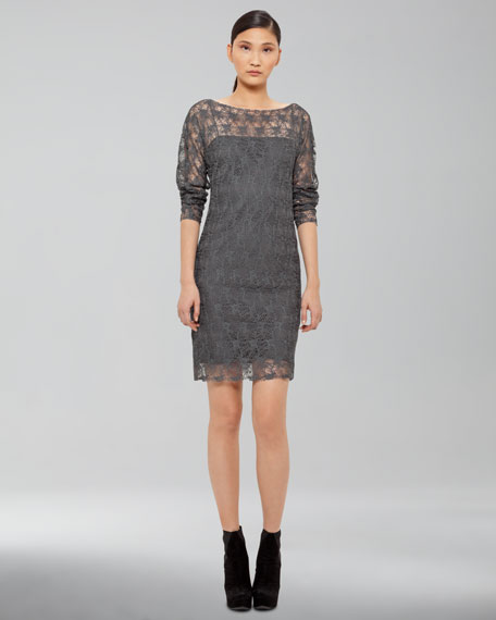 Slim Lace Dress
