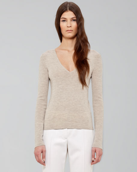Long-Sleeve Knit Top
