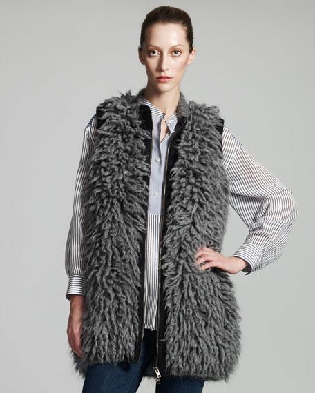 Fur-Effect Gilet