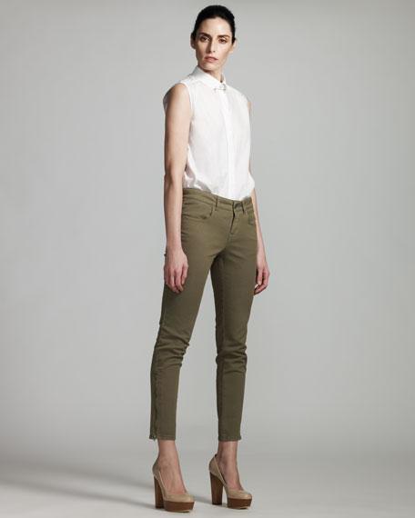 Skinny Jeans, Olive