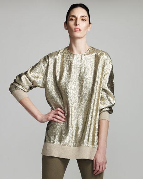 Metallic Sweatshirt