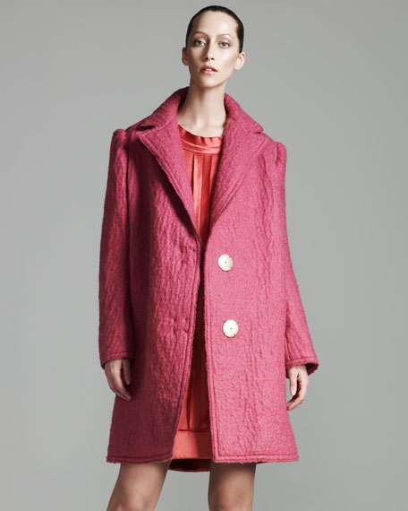 Oversized Felt Coat