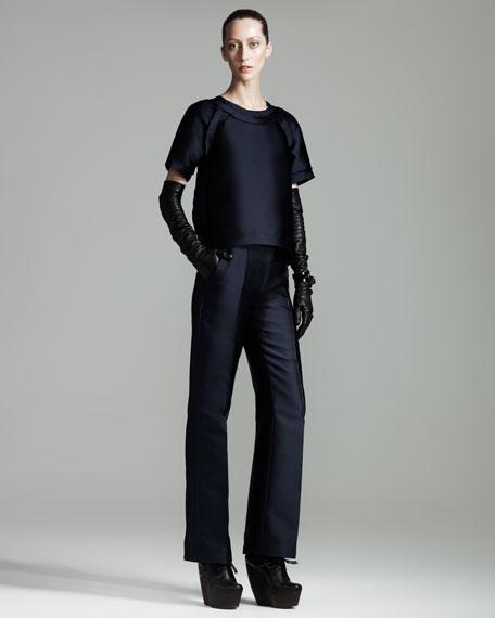 Duchesse Tech-Fabric Pants
