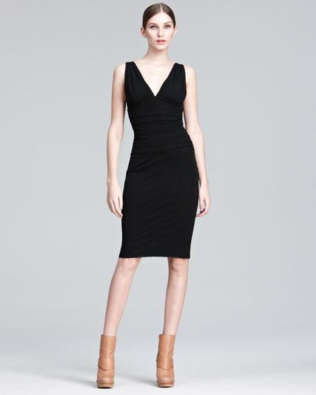 Ruched Sheath Dress