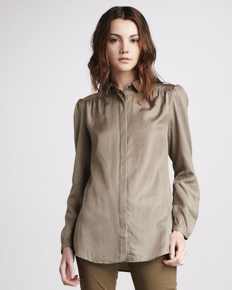 Silk-Cotton Blouse