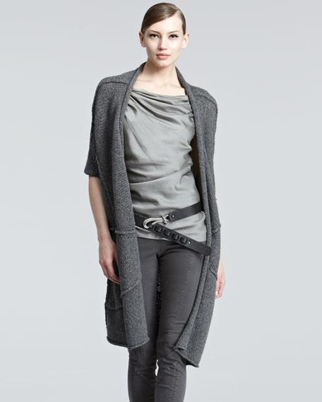 Oversize Knit Cardigan