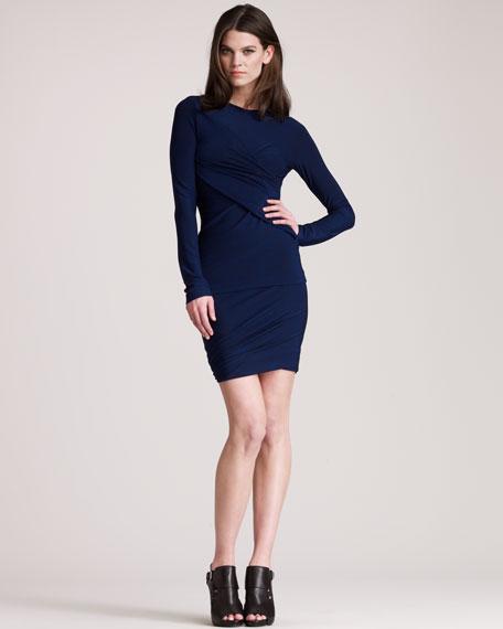 Marled Jersey Skirt