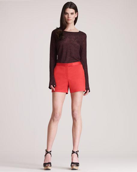 Twill Shorts, Cayenne
