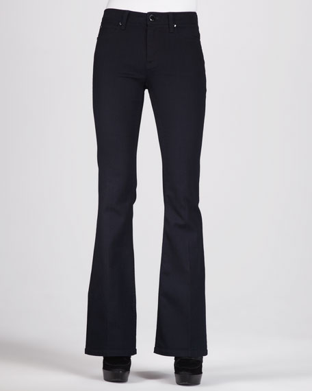 Rinsed Boot-Cut Jeans