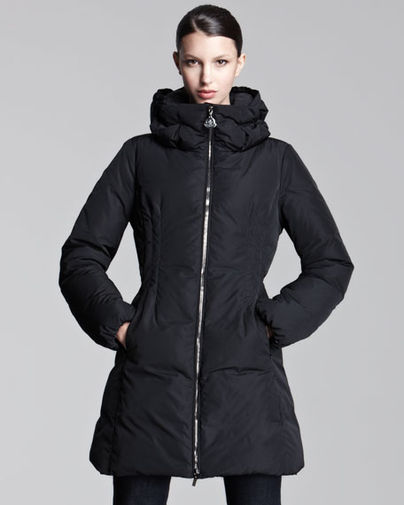 Mid-Length Puffer Coat