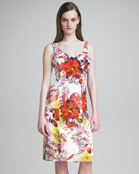 Clarissa V-Neck Dress