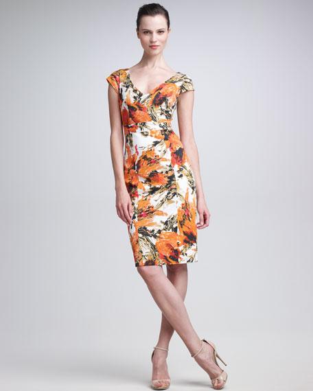 Tanya Floral-Print Dress