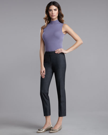 Emma Caviar Denim Pants