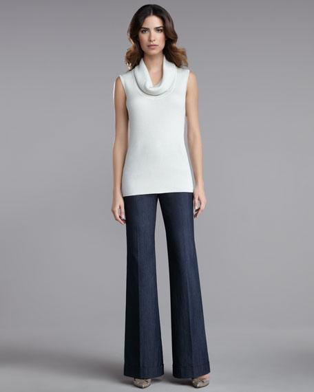 Paula Wide-Leg Denim Pants