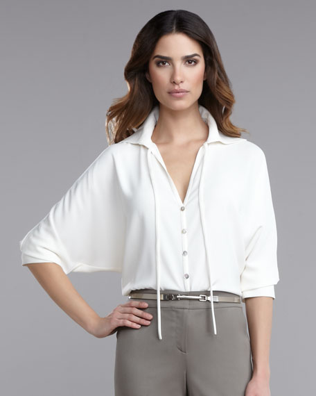 Luxe Crepe Blouse
