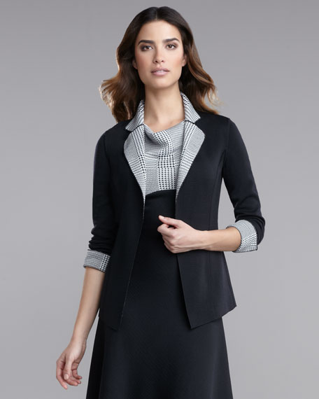 Milano Knit Reversible Jacket
