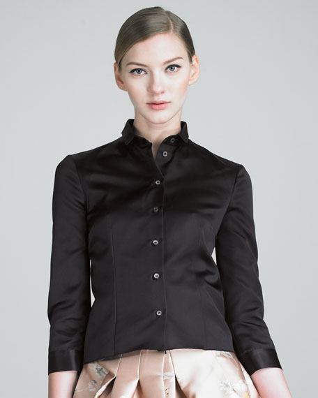 Three-Quarter-Sleeve Blouse