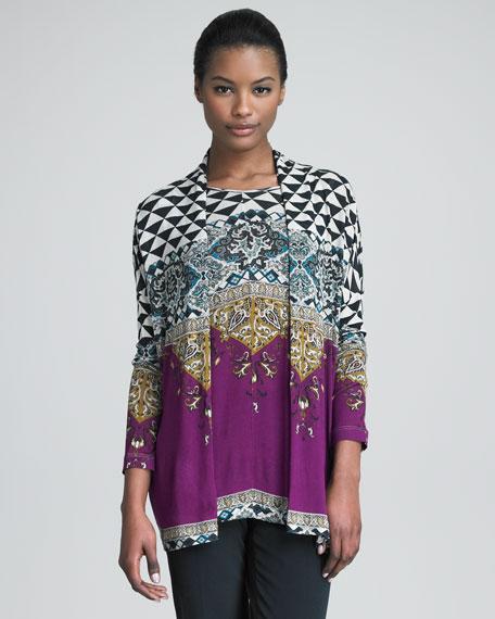 Print Knit Top