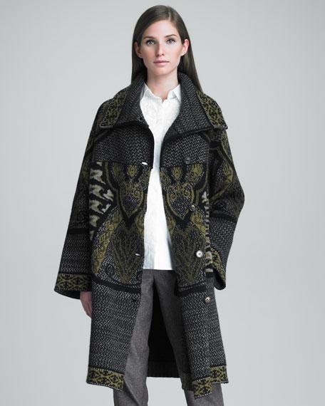 Knit Cardigan Coat