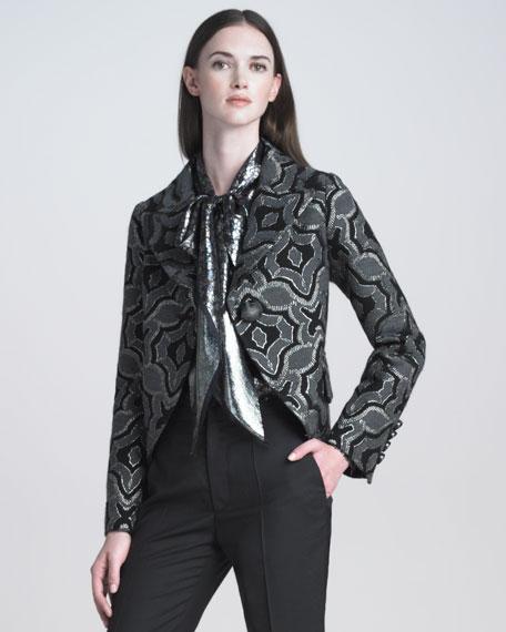 Kaleidoscope Jacquard Jacket