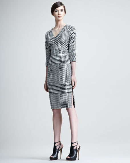 Dianah Houndstooth Dress