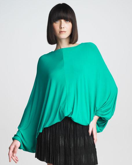 Batwing-Sleeve Top