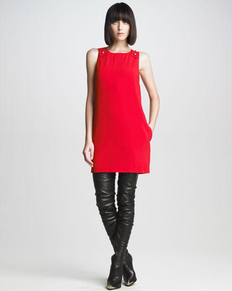 Sleeveless Shift Dress