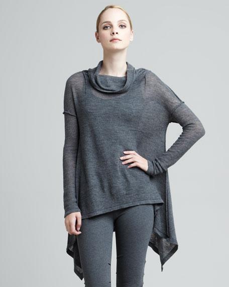 Gauzy Knit Tunic
