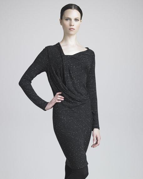 Urban Tweed-Print Jersey Tunic