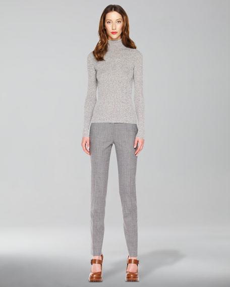 Slim Flannel Trousers
