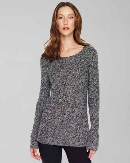 Marled Cashmere Sweater