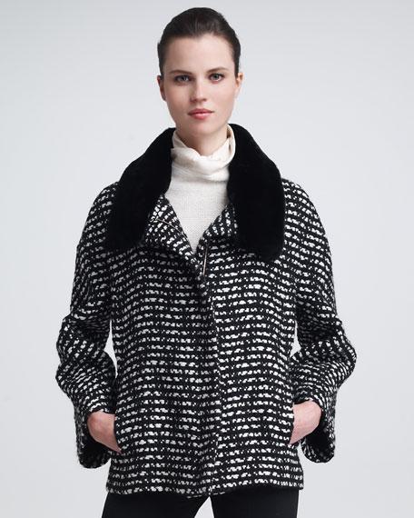 Rabbit-Collar Jacket