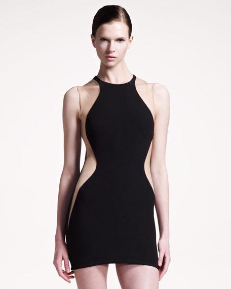 Short Colorblock Dress