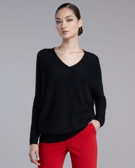 Micro-Link Cashmere Sweater