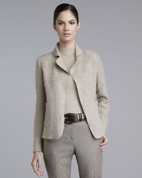 Boucle Easy-Fit Jacket