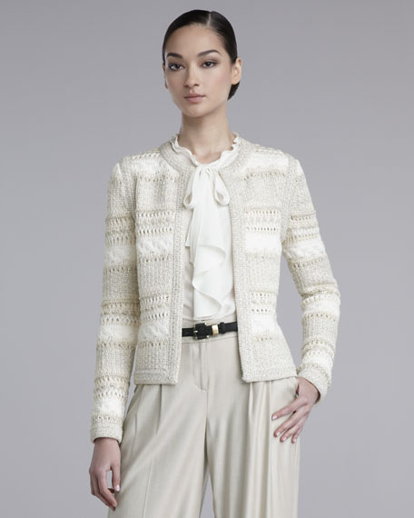 Lofty Hand-Knit Jacket