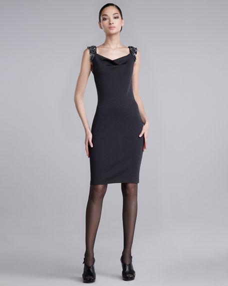 Beaded Knit Dress