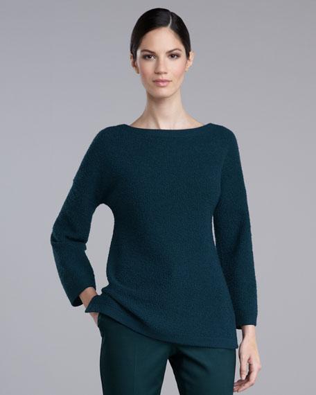 Boucle Tunic Sweater