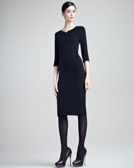Diane Stretch Cady Dress